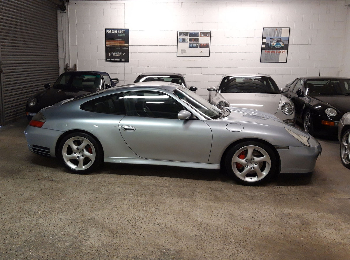 2004 PORSCHE 911/996 3.6 CARRERA 4S COUPE ( Turbo Body ) FPSH  SOLD (picture 6 of 6)