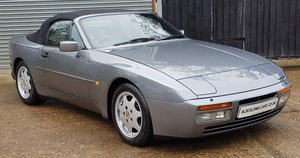 1991 Outstanding  944 S2 Cabriolet -Only 74,000 Miles - FSH For Sale