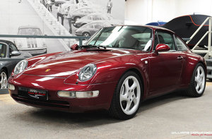 1996 Porsche 993 Carrera 4 manual coupe For Sale