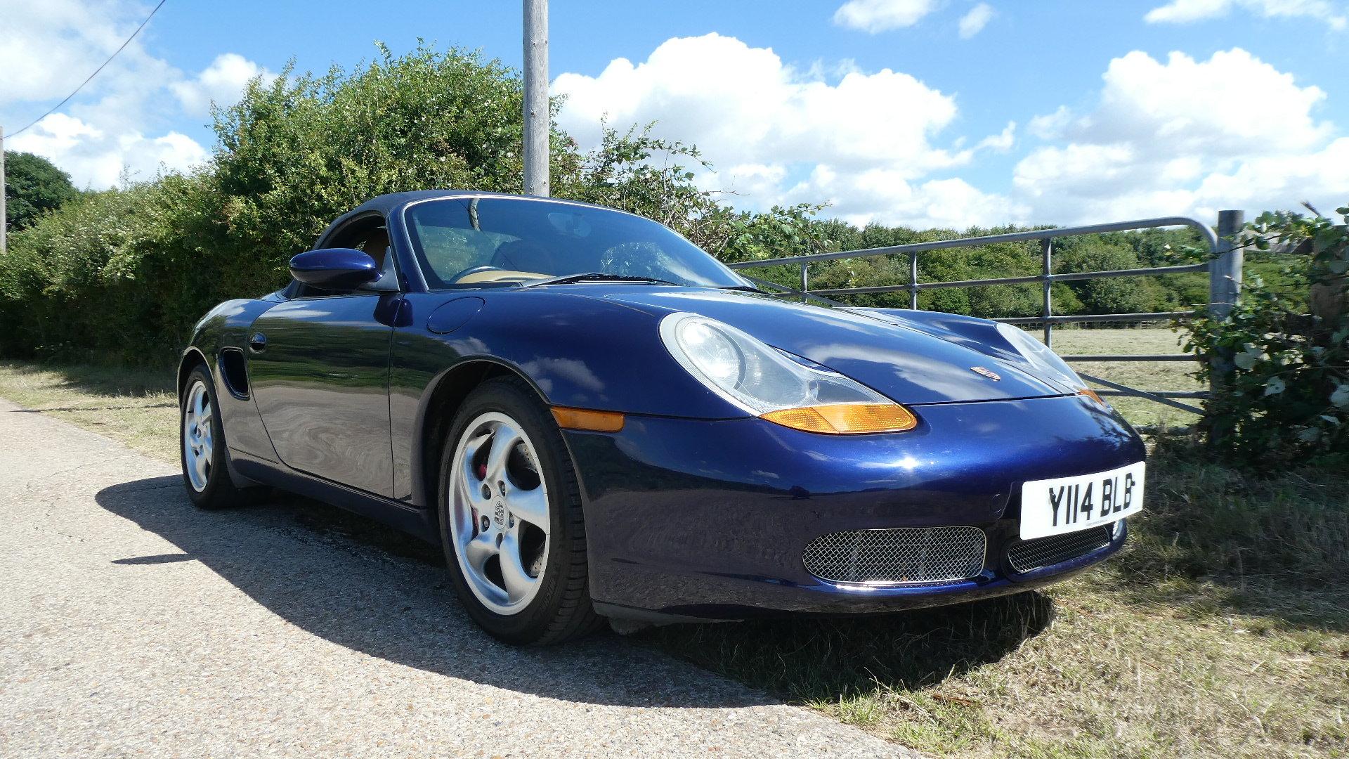 2001 Porsche Boxster S  3.2 litre Convertible  SOLD (picture 1 of 6)