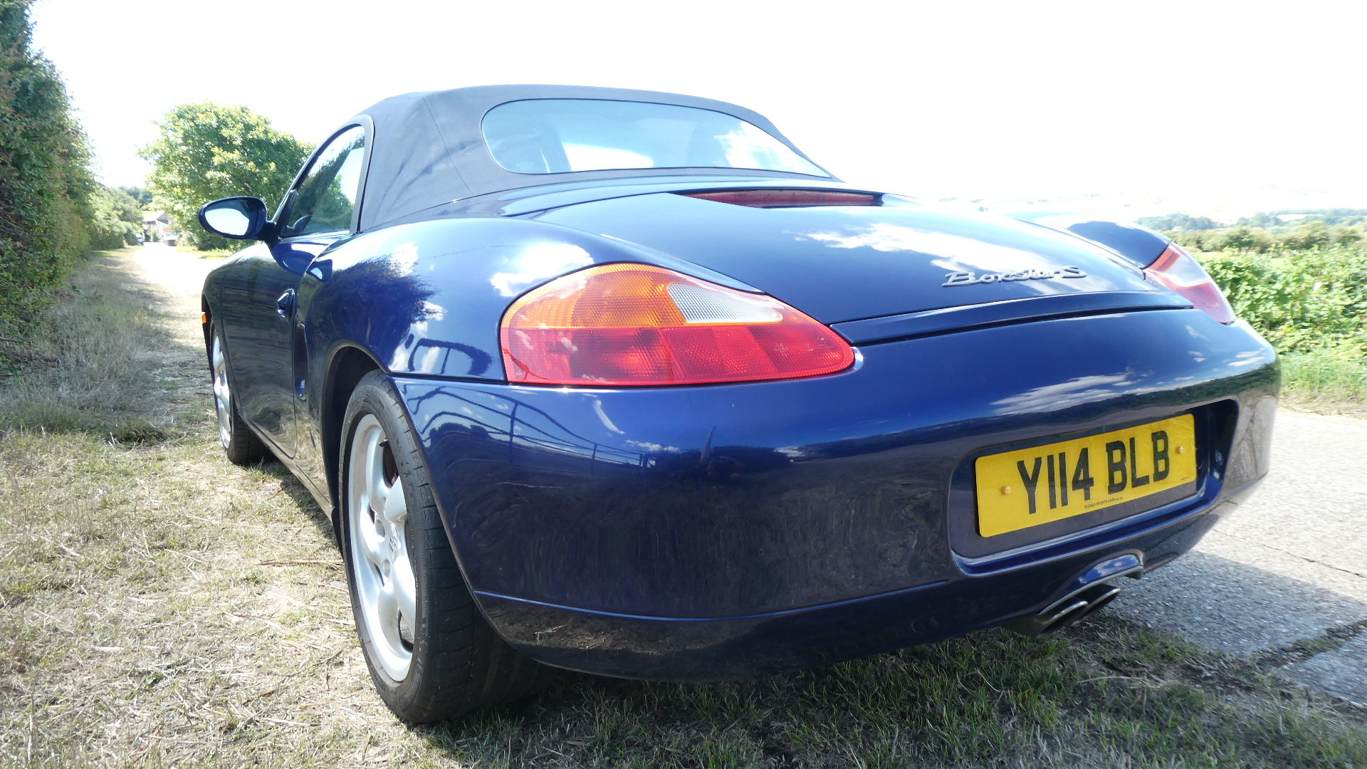 2001 Porsche Boxster S  3.2 litre Convertible  SOLD (picture 4 of 6)