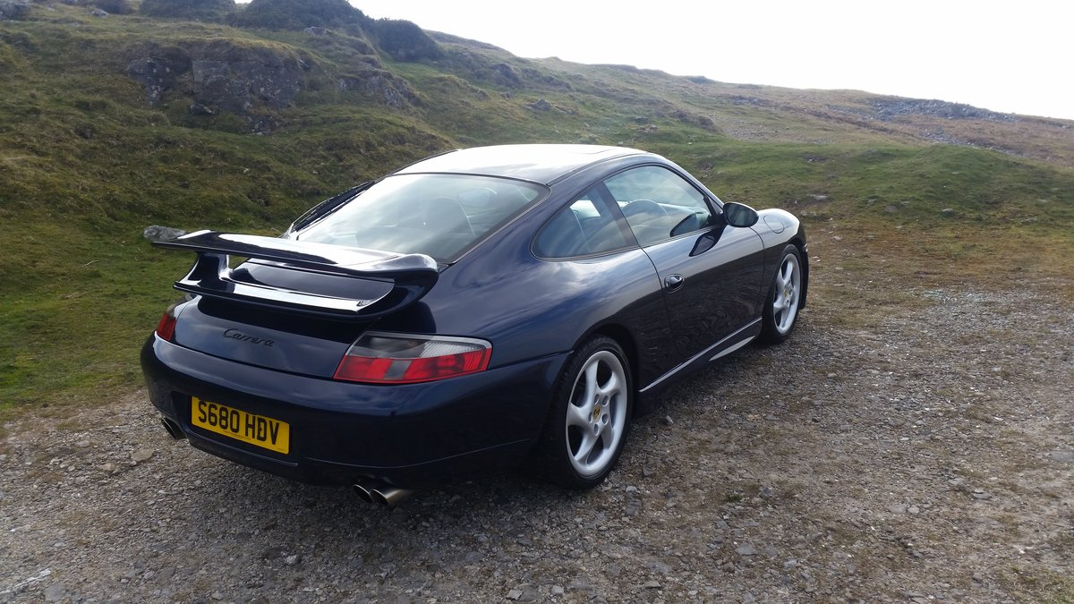1999 1998 Porsche 911 996 3.4 C2 Manual coupe For Sale (picture 2 of 6)