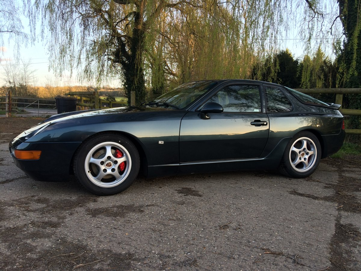 1994 Porsche 968 sport 3.0 16 variocam - rare aventura green SOLD (picture 1 of 6)