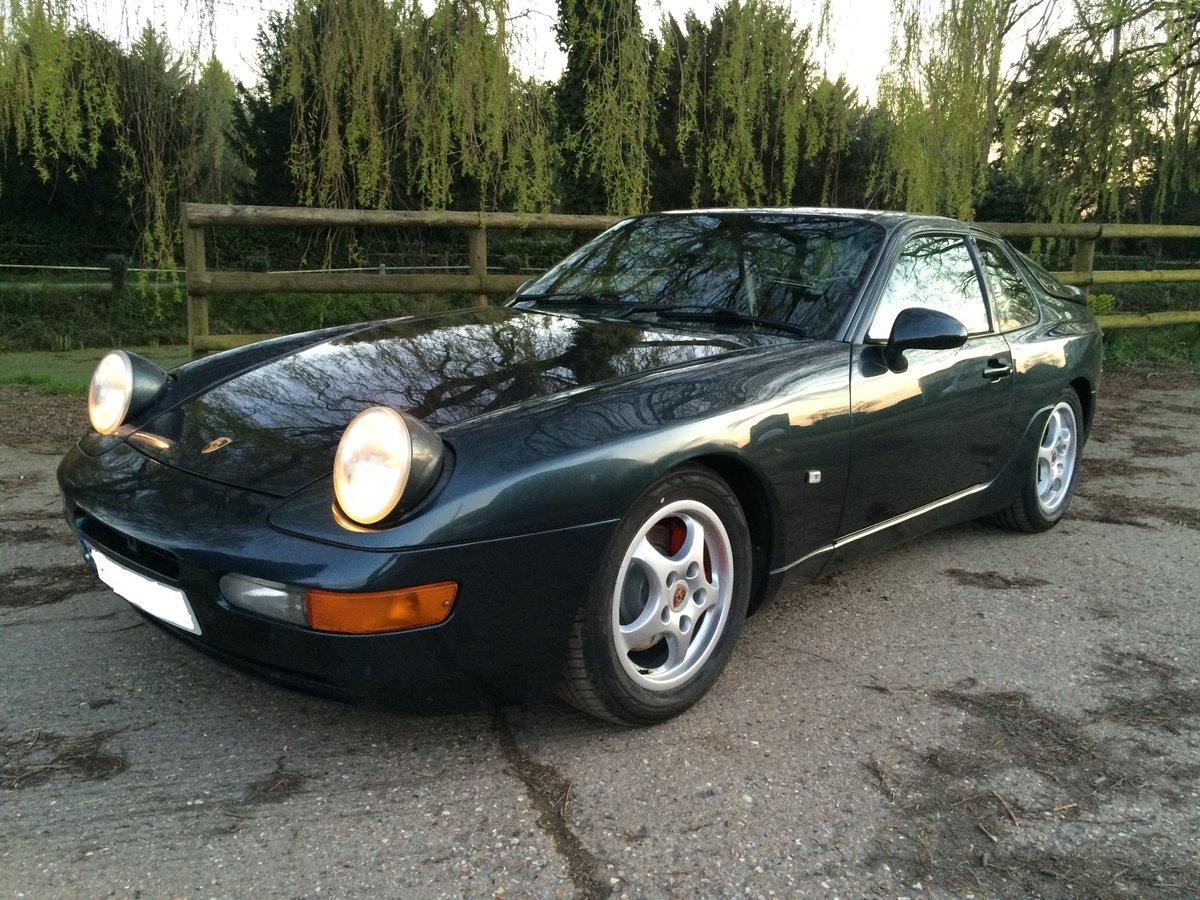 1994 Porsche 968 sport 3.0 16 variocam - rare aventura green SOLD (picture 5 of 6)