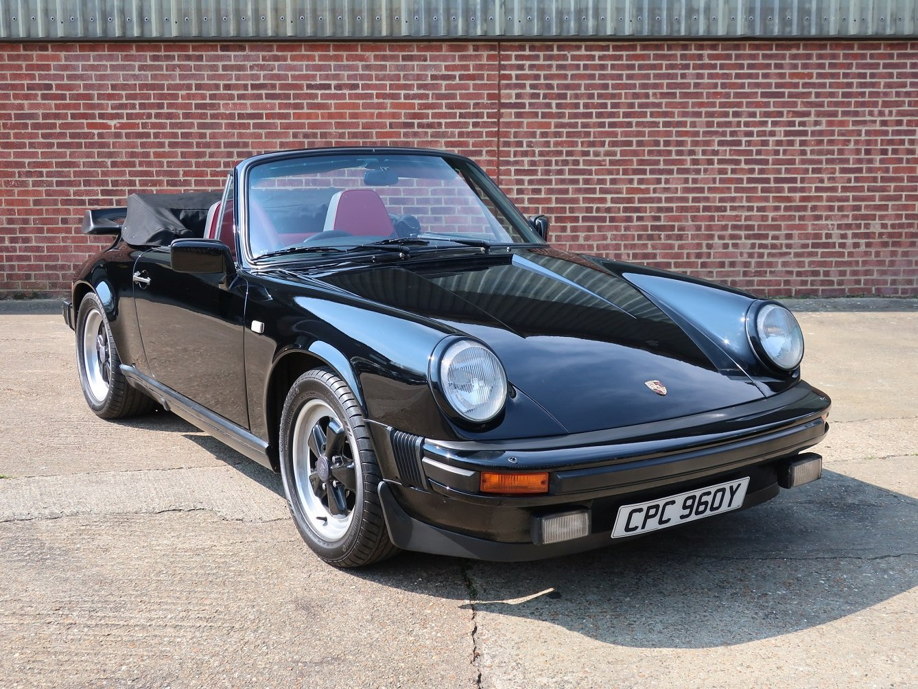 1983 Porsche 911 3.0 SC Cabriolet For Sale (picture 1 of 6)