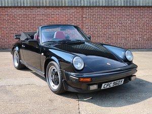 1983 Porsche 911 3.0 SC Cabriolet For Sale