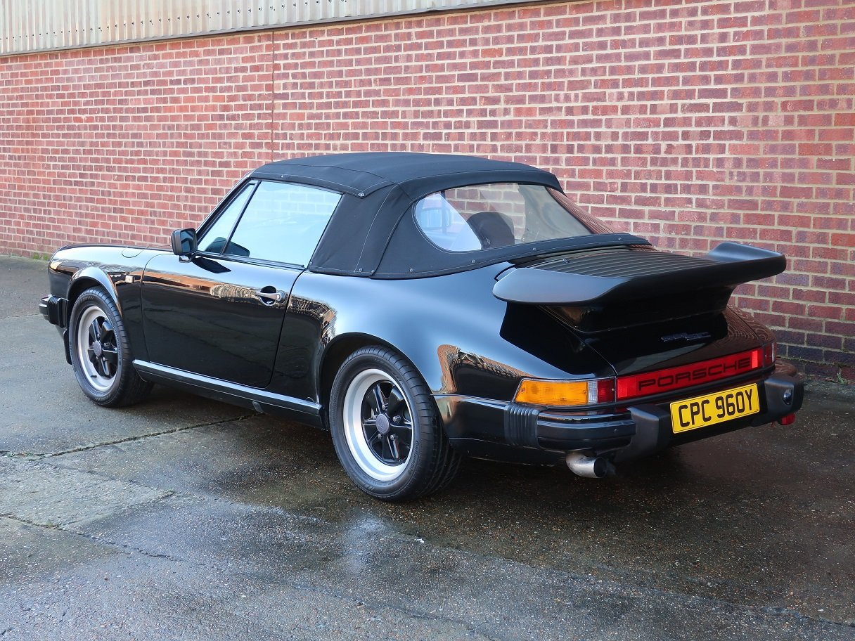 1983 Porsche 911 3.0 SC Cabriolet For Sale (picture 4 of 6)
