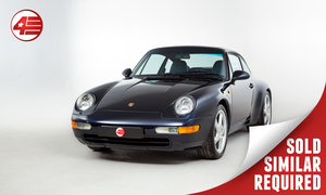 1994 Porsche 993 Carrera Manual LHD /// Factory LSD /// 51k Miles SOLD