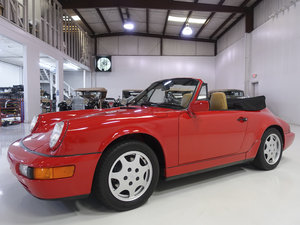 1990 Porsche 911 Carrera 2 Cabriolet For Sale