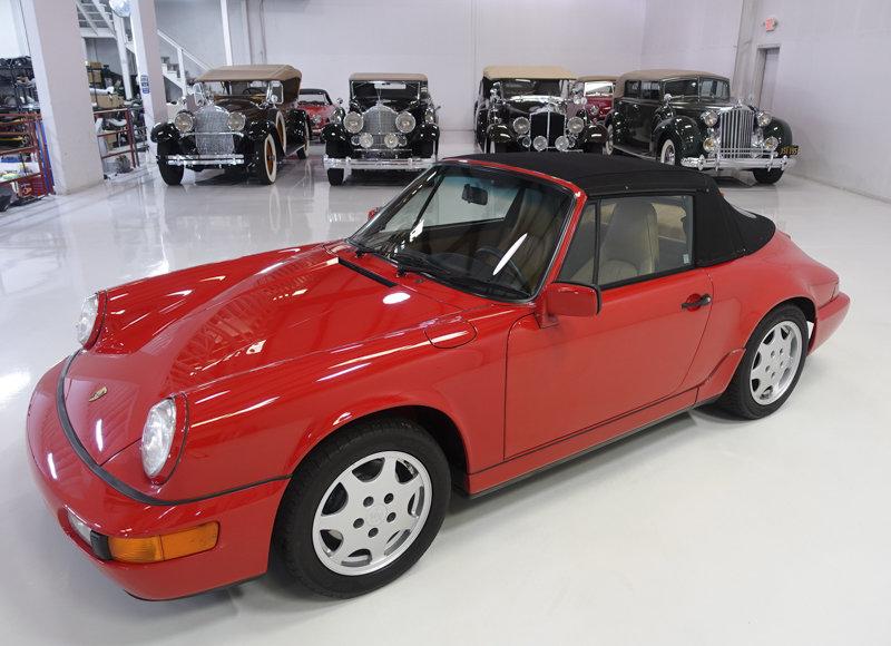1990 Porsche 911 Carrera 2 Cabriolet For Sale (picture 2 of 6)