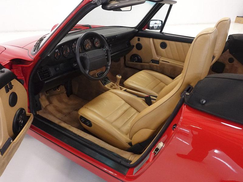 1990 Porsche 911 Carrera 2 Cabriolet For Sale (picture 3 of 6)