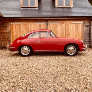 1962 Porsche 356 Twin Grill Super 90 Coupe