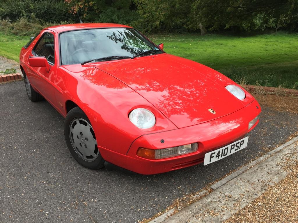 1988 PORSCHE 928 S4  5.0 v8 coupe automatic  For Sale (picture 1 of 6)