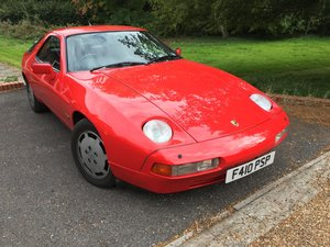 1988 PORSCHE 928 S4  5.0 v8 coupe automatic