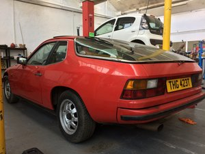 1979 Porsche 924 2.0 Lux Guards Red For Sale