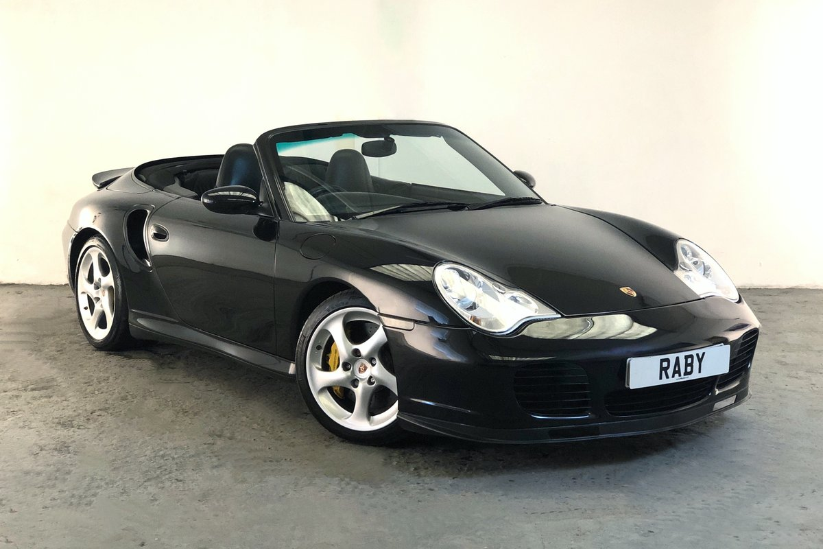 2005 Porsche 996 Turbo S Cabriolet. Rare modern classic. SOLD (picture 1 of 6)