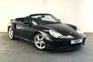 Porsche 996 Turbo S Cabriolet. Rare modern classic. For Sale