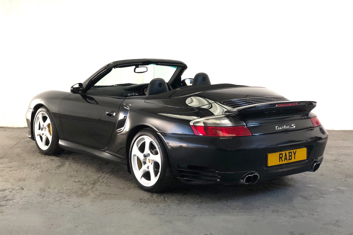 2005 Porsche 996 Turbo S Cabriolet. Rare modern classic. SOLD (picture 2 of 6)