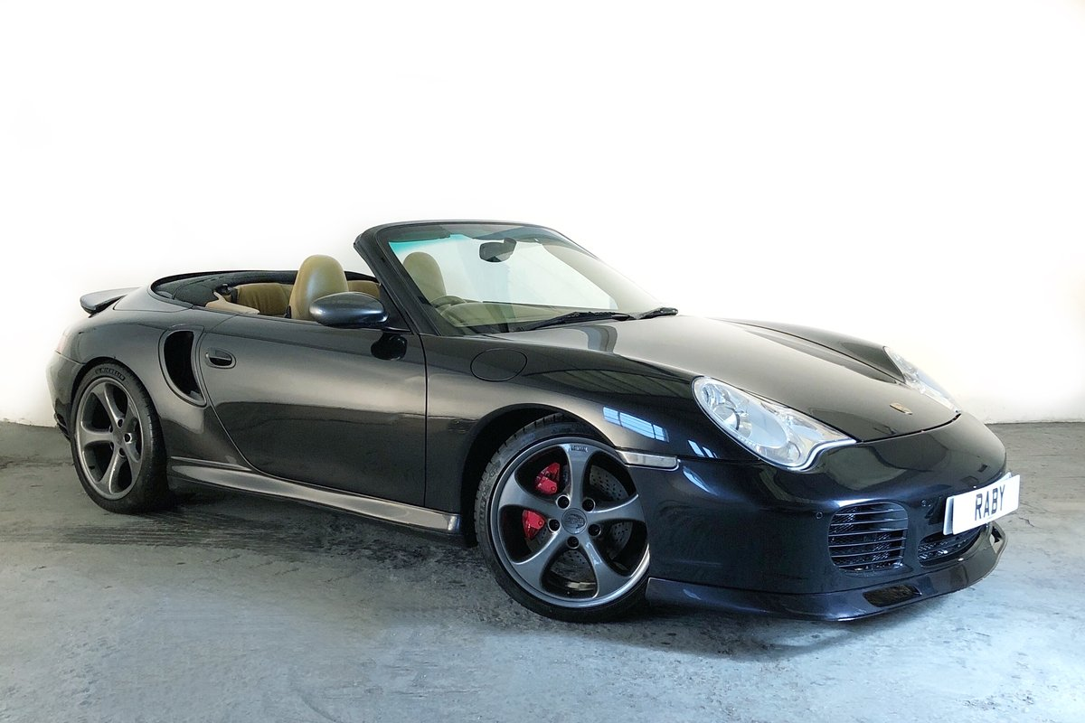 2003 Porsche 996 Turbo Cabriolet. Open-top supercar! SOLD (picture 1 of 6)