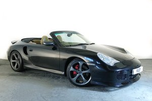 2003 Porsche 996 Turbo Cabriolet. Open-top supercar! SOLD