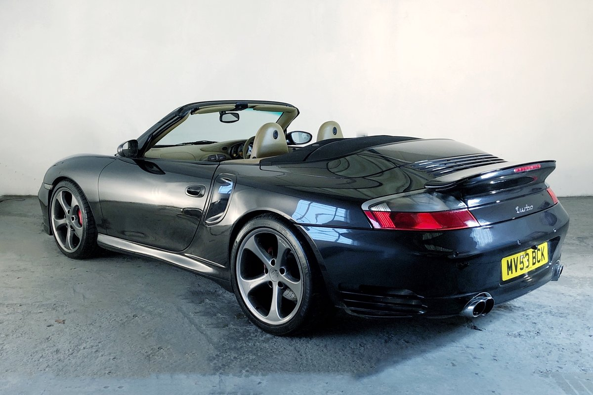 2003 Porsche 996 Turbo Cabriolet. Open-top supercar! SOLD (picture 2 of 6)