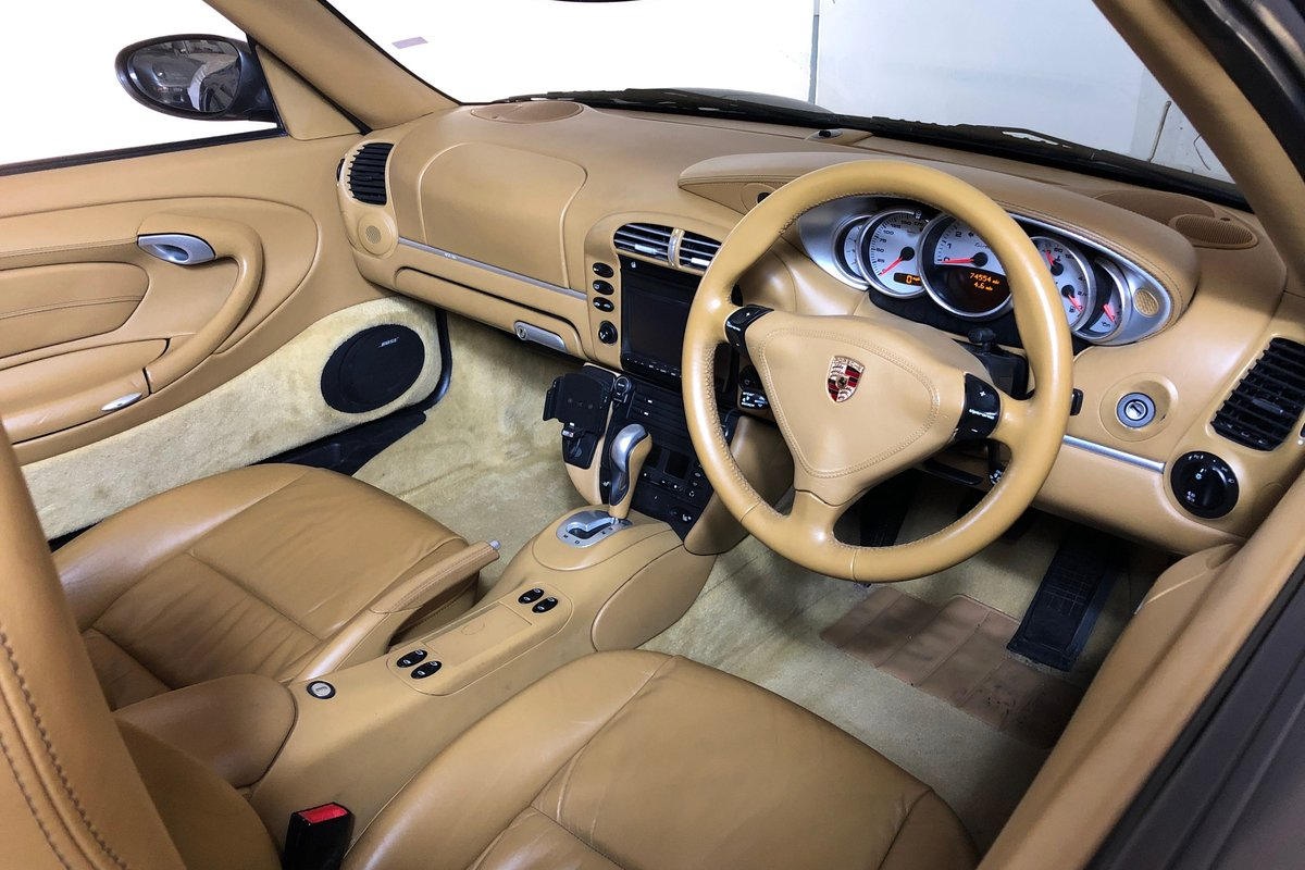 2003 Porsche 996 Turbo Cabriolet. Open-top supercar! SOLD (picture 3 of 6)