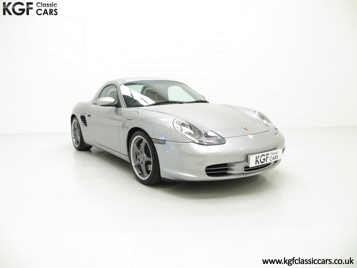 2004 Porsche Boxster S 550 Anniversary, 26,290 Miles & Two Owners SOLD (picture 1 of 6)