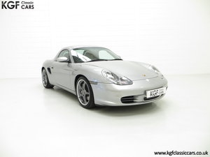 2004 Porsche Boxster S 550 Anniversary, 26,290 Miles & Two Owners SOLD