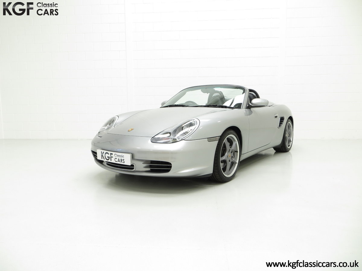 2004 Porsche Boxster S 550 Anniversary, 26,290 Miles & Two Owners SOLD (picture 2 of 6)