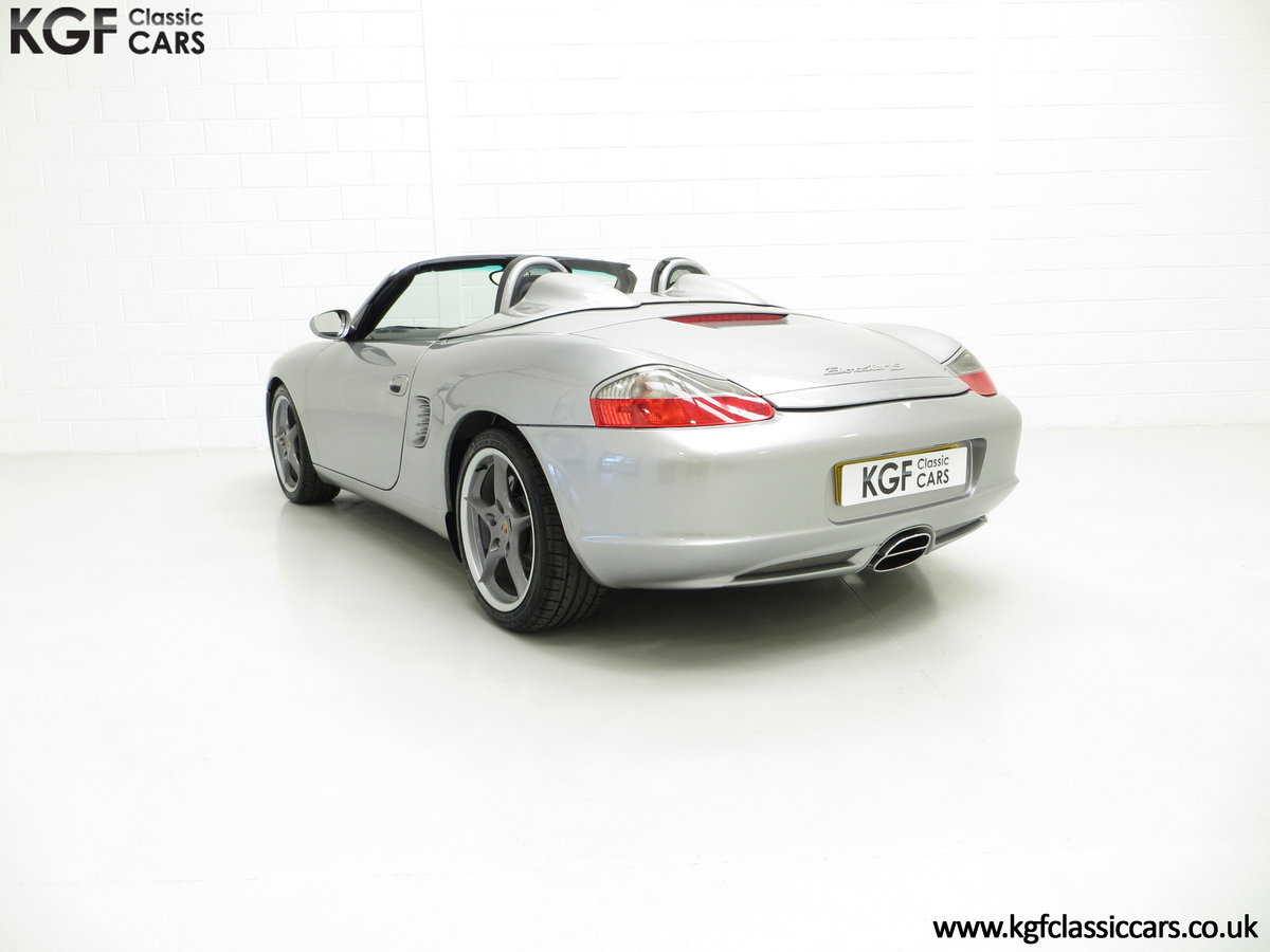 2004 Porsche Boxster S 550 Anniversary, 26,290 Miles & Two Owners SOLD (picture 4 of 6)