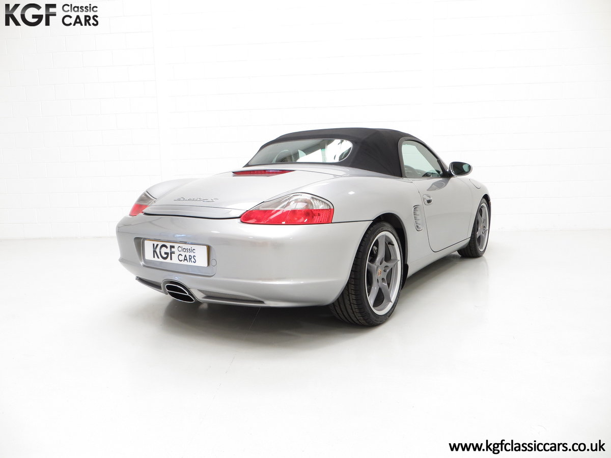 2004 Porsche Boxster S 550 Anniversary, 26,290 Miles & Two Owners SOLD (picture 5 of 6)