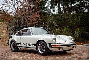 1975 Porsche Carrera 2.7 Coupe = low 34k miles Ivory $105k