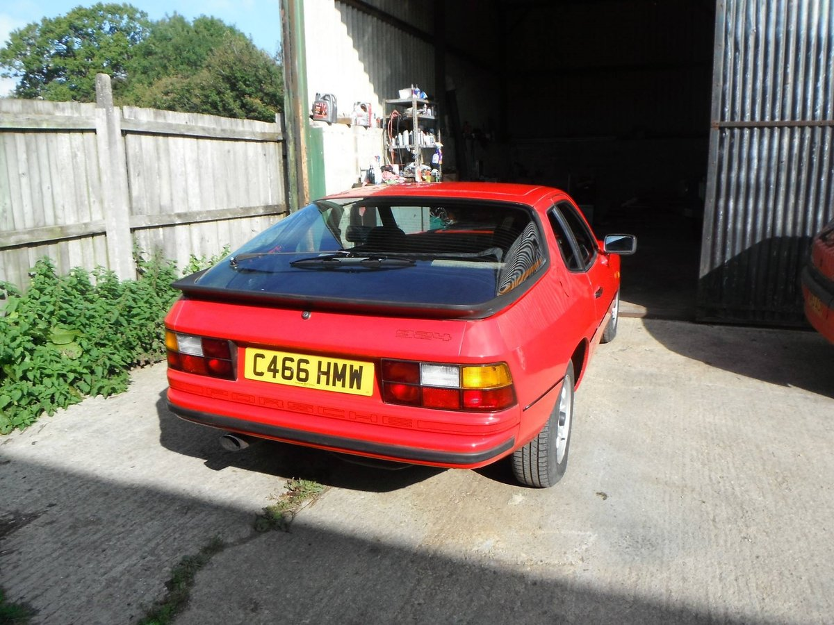 Porsche 924 1985 SOLD (picture 2 of 5)