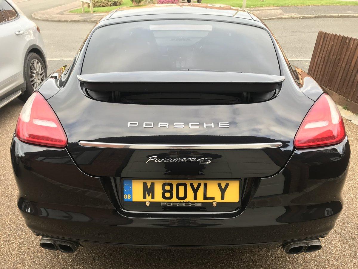 2010 Porsche Panamera 4s 4.8 v8 low miles fsh huge spec For Sale (picture 2 of 3)
