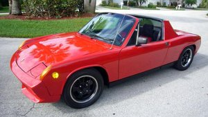 1971 Porsche 914 electric conversation Prototype For Sale