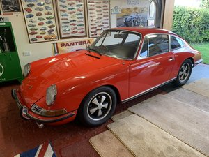 RHD 1968 Porsche 912 in Polo Red MATCHING NUMBERS For Sale