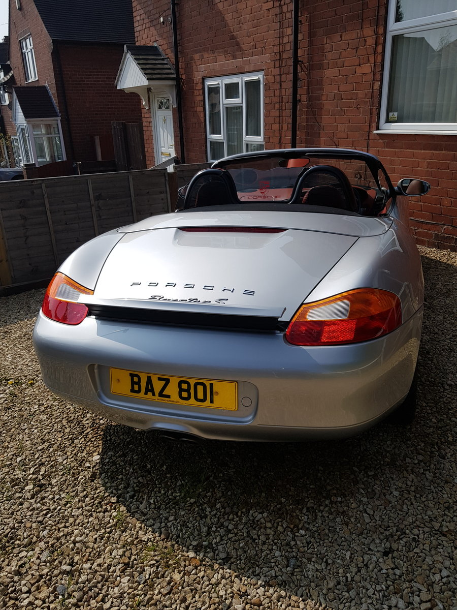 2000 Mint Porsche boxter s 3.2 sports For Sale (picture 5 of 6)