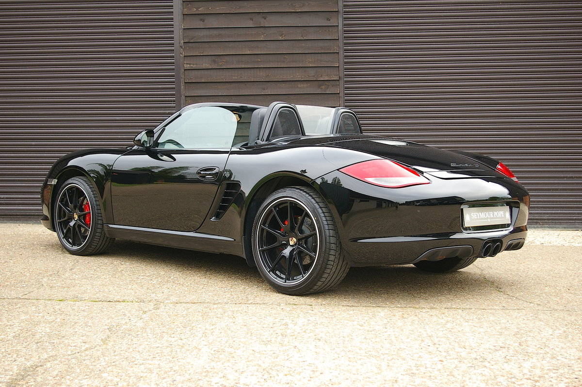 2011 Porsche 987 Boxster S 3.4 Black Edition Manual (42112 miles) SOLD (picture 3 of 6)