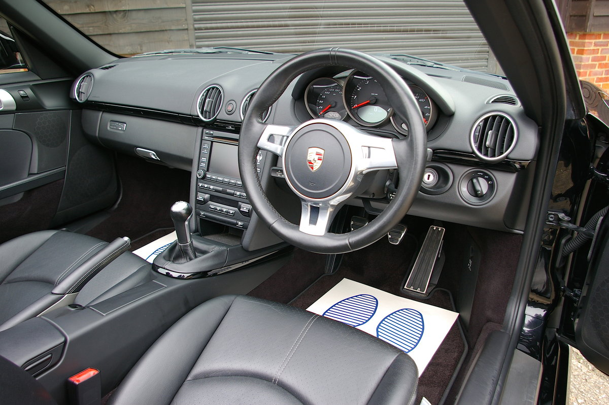 2011 Porsche 987 Boxster S 3.4 Black Edition Manual (42112 miles) SOLD (picture 5 of 6)