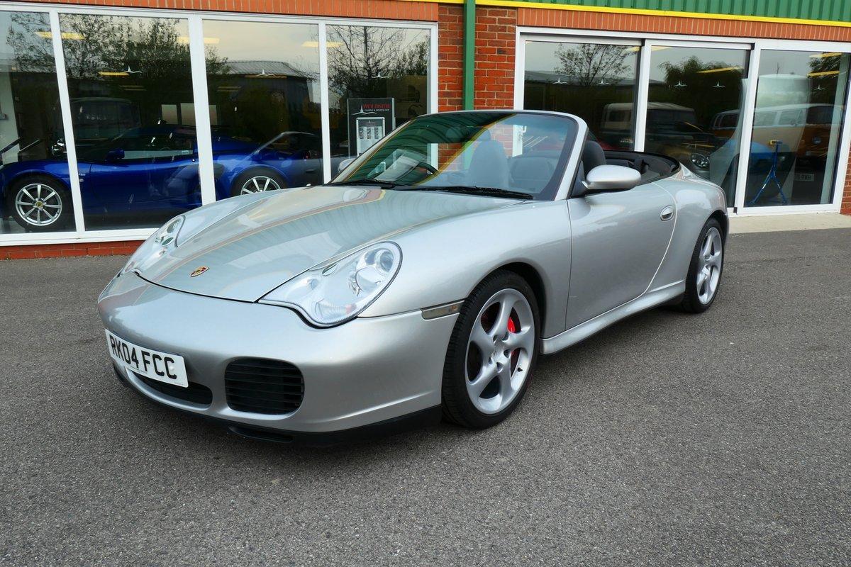 2004 Porsche 911 996 C4S Cabriolet 6 speed  SOLD (picture 1 of 6)