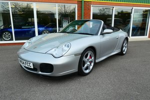 2004 Porsche 911 996 C4S Cabriolet 6 speed  For Sale