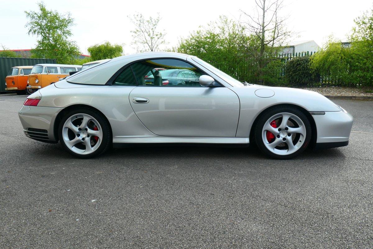 2004 Porsche 911 996 C4S Cabriolet 6 speed  SOLD (picture 3 of 6)