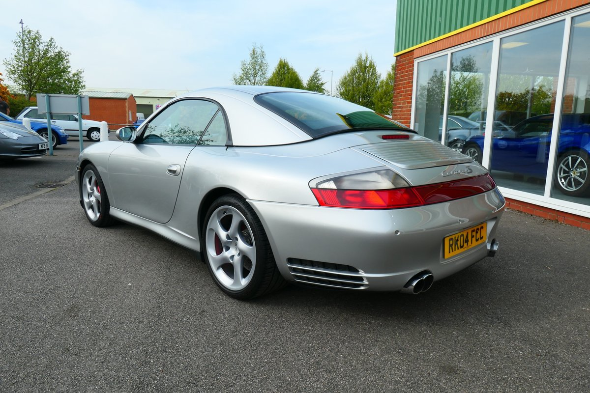 2004 Porsche 911 996 C4S Cabriolet 6 speed  SOLD (picture 4 of 6)