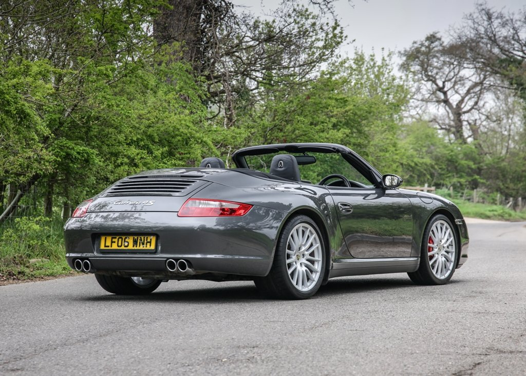 2006 Porsche 911 / 997 Carrera 4S Cabriolet SOLD by Auction (picture 1 of 6)