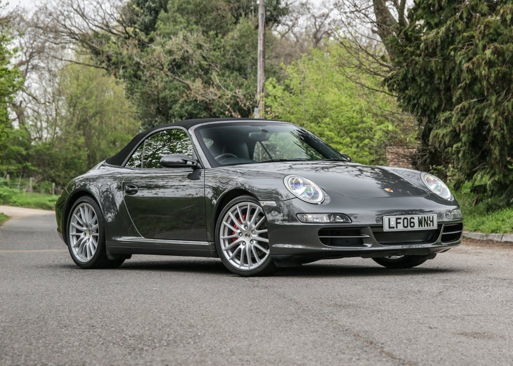 2006 Porsche 911 / 997 Carrera 4S Cabriolet SOLD by Auction (picture 2 of 6)