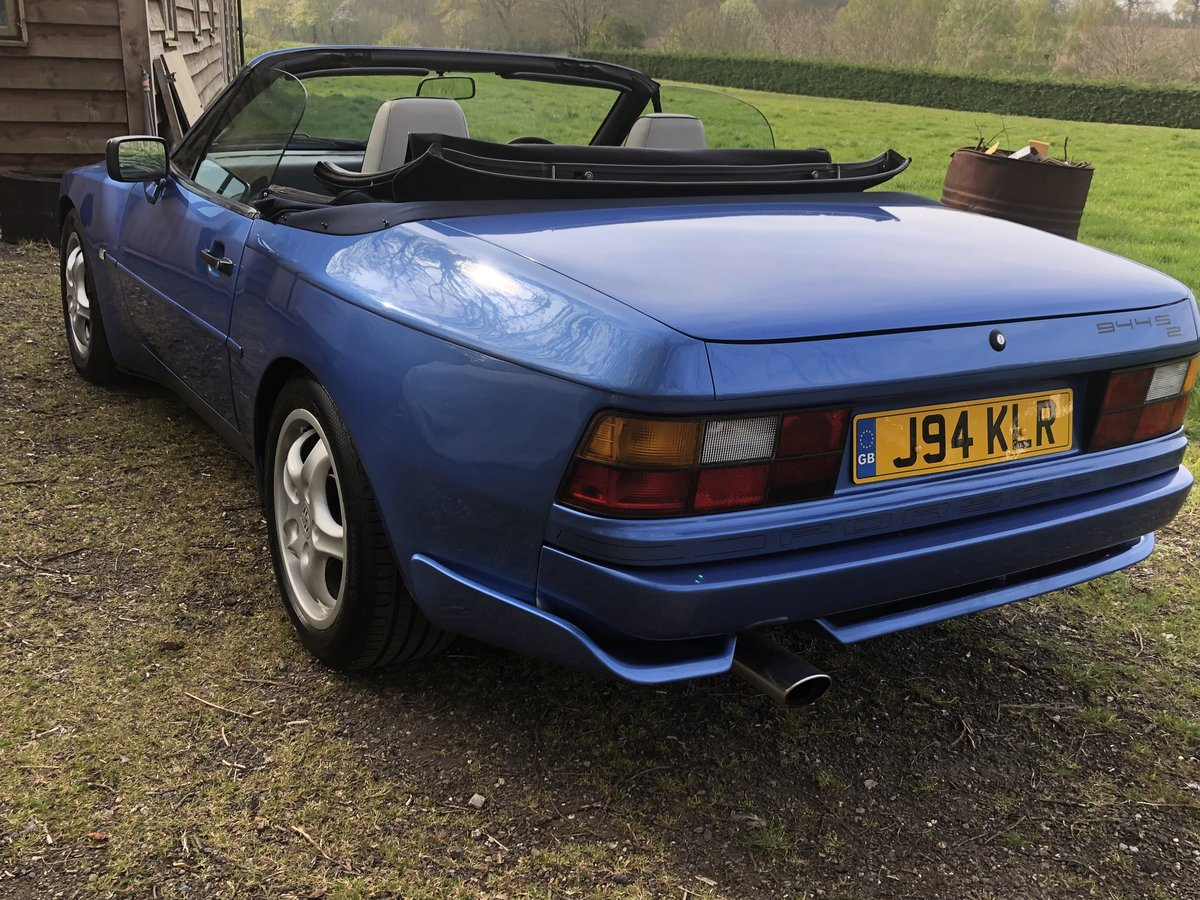 Porsche 944s2 cab 1991 IMMACULATE FULL SERVICE For Sale (picture 3 of 6)