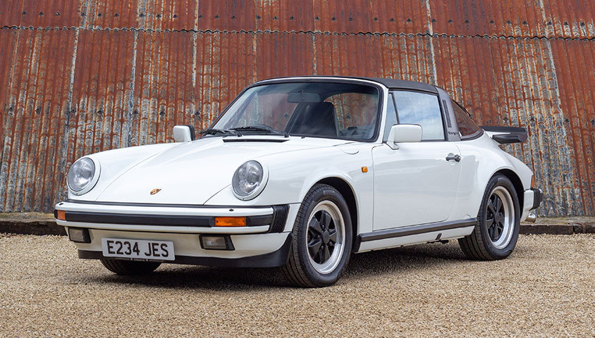 1988 PORSCHE 911 CARRERA S 3.2 TARGA SOLD (picture 1 of 6)
