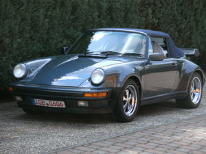 Picture of 1988 911 cabriolet factory turbo look m491 supersports For Sale