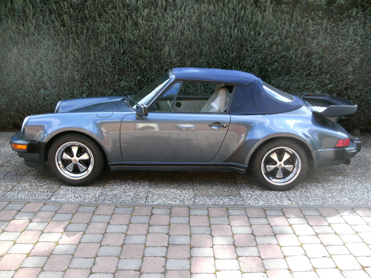 1988 911 cabriolet factory turbo look m491 supersports For Sale (picture 2 of 6)