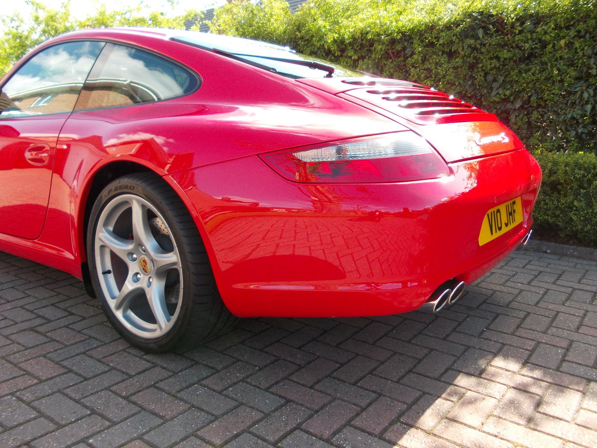 2007 PORSCHE 997 CARRERA 2S .GUARDS RED.SUPERB.£27975 For Sale (picture 2 of 6)